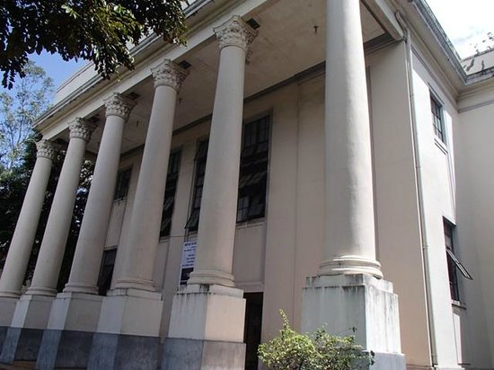 Negros Museum:                   view from the stree