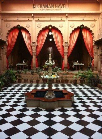 Heritage Kuchaman:                   Main dining room/restaurant