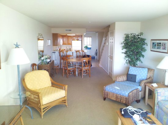Seascape Resort:                   downstairs