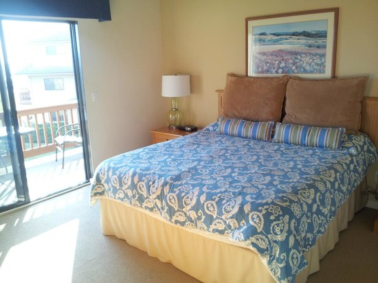 Seascape Resort:                   Bedroom #1 in Two Room Villa(Villa means two-story)