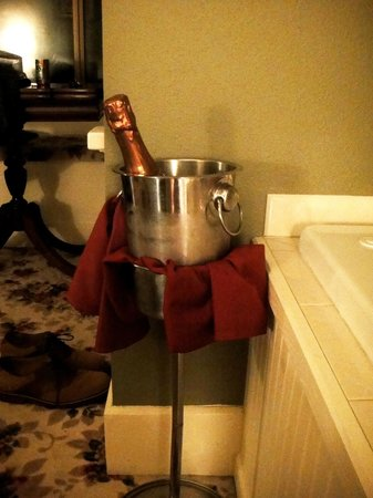 Birchfield Manor Country Inn:                   No ice machines here, much more classy