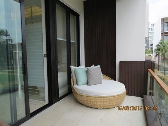 Hyatt Regency Danang Resort & Spa:                   balcony