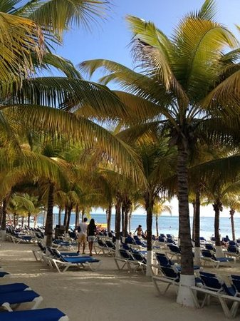 Occidental Costa Cancun:                   playa