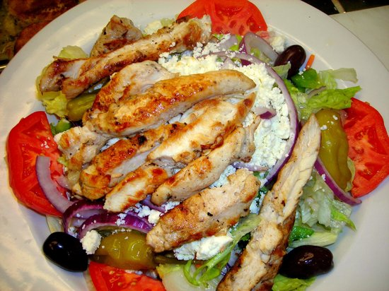 PepperMill Cafe: Marinated Chicken Salad