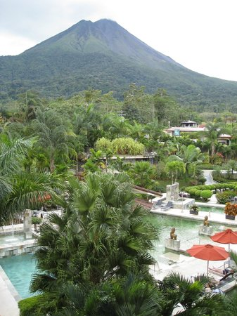 ‪‪The Royal Corin Thermal Water Spa & Resort‬:                   La vista-Arenal Vulcan