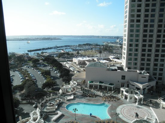 Manchester Grand Hyatt San Diego:                   View from room