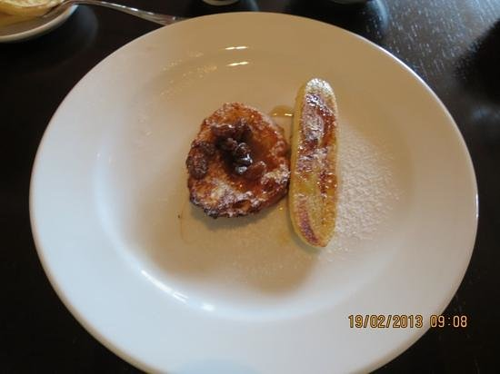 ไฮแอตรีเจนซี่ดานังรีสอร์ทแอนด์สปา:                   French toast for breakfast