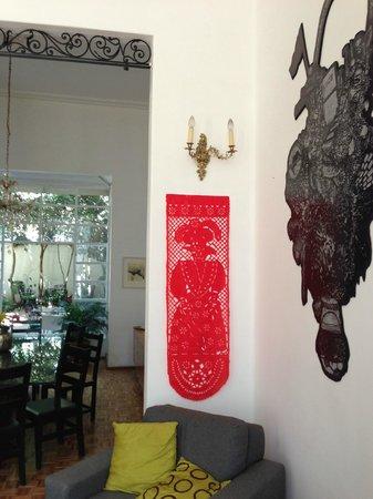 Casa Comtesse:                   open area 1