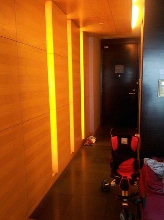 Hilton Kuala Lumpur:                   room entrance