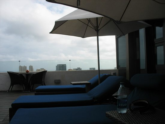 Barcelo Santo Domingo:                   Outside Club Lounge Area