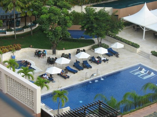 Barcelo Santo Domingo:                   Aerial View of Pool