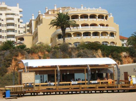 Hotel Oriental:                   Hotel from beach