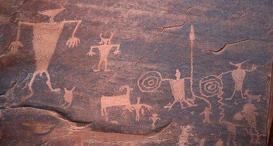 Utah Scenic Byway 279 Rock Art Sites Foto