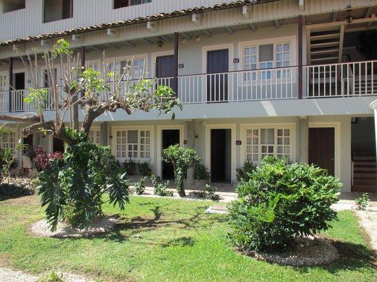 Hotel Liberia:                   Innenhof mit Fassade