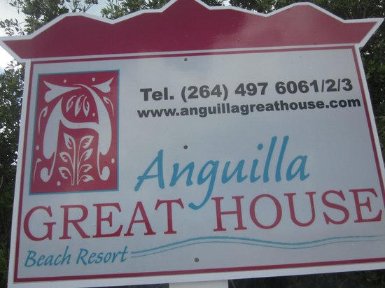 Anguilla Great House Beach Resort:                   Anguilla Great House.  The entrance made me nervous but eh beach was a wonderf