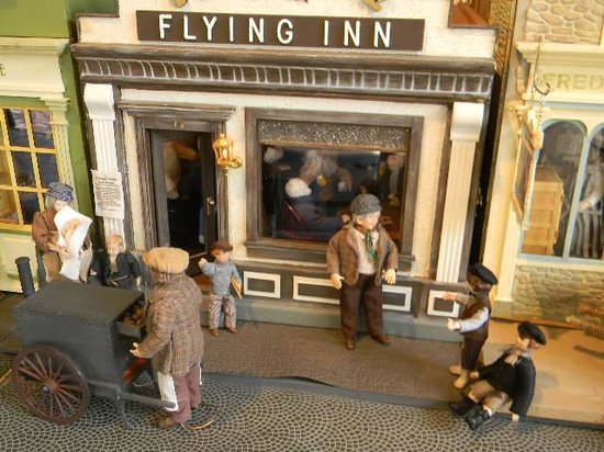 Smallsea: A Metropolis in Miniature:                   Flying Inn Pub
