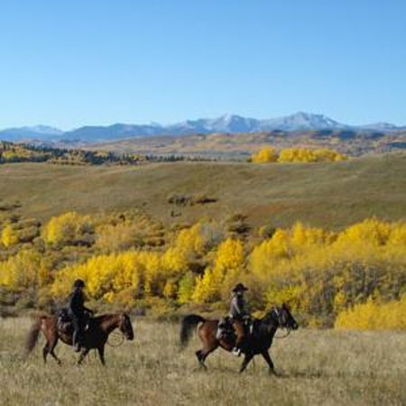 Bilde fra Moose Mountain Horseback Adventures - Day Tours