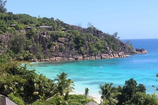 Four Seasons Resort Seychelles:                   the view from our villa