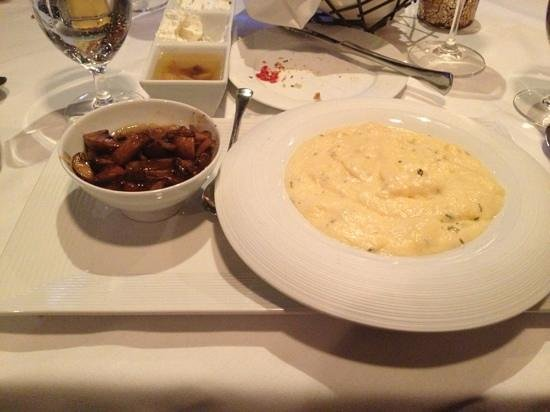 Brando's Citi Cucina:                   polenta & mushrooms (excellent!)