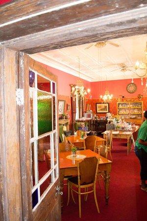 Her Majesteas Salon :                   The Tea Parlour