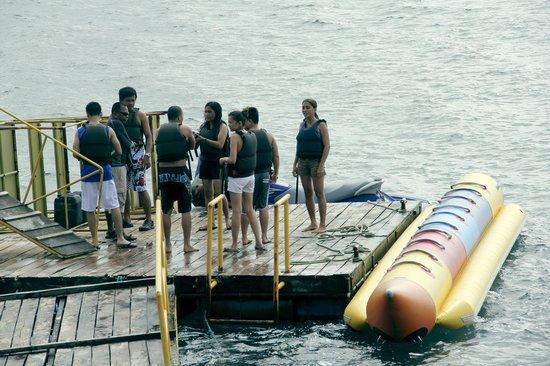 Maxima Aquafun:                   ready for banana boat