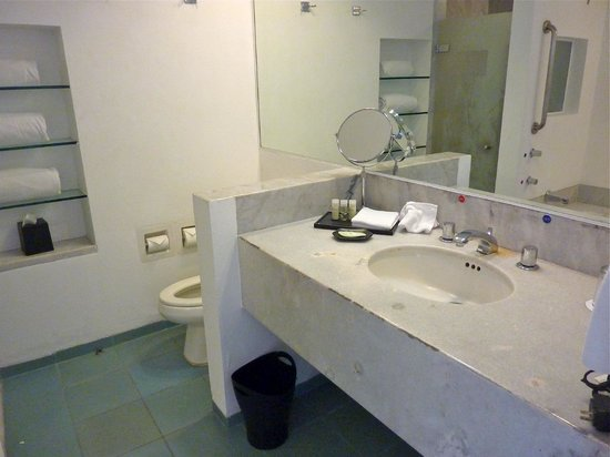 The Westin Resort & Spa Cancun:                   Deferred maintenance in bathroom in room 1145 (see vanity top)
