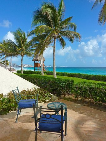The Westin Resort & Spa Cancun:                   View from patio on room 1145