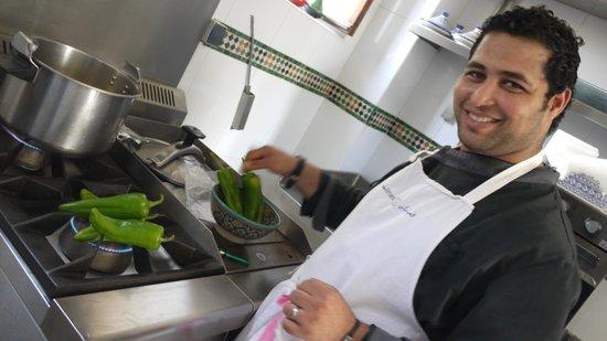 Palais Amani:                   Chef Houssan cooking lesson