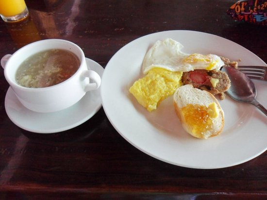 Dumaluan Beach Resort 2:                   breakfast.
