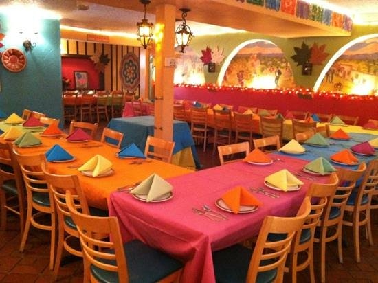 El Charro Mexican Dining:                   preparing for a wedding reception!