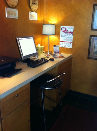 Hotel Lush Royale:                   Business Center
