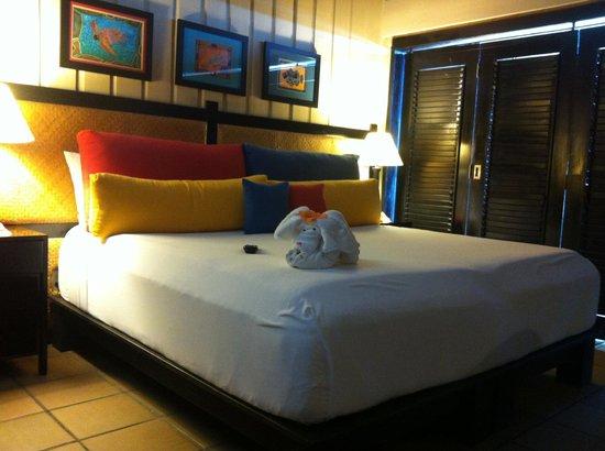 Barefoot Cay:                   Dive Loft Room