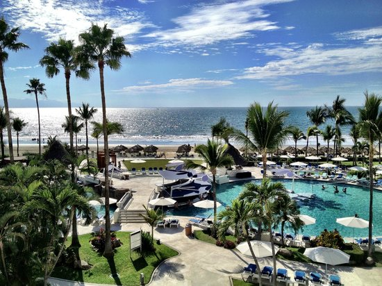 Hard Rock Hotel Vallarta:                   View from room
