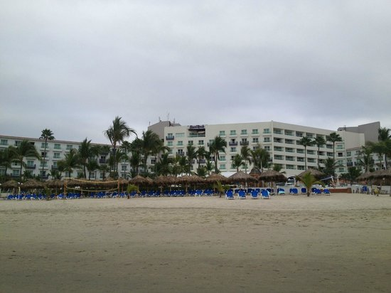 Hard Rock Hotel Vallarta:                   Resort from the beach