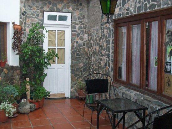 Casa Arbol:                   Vista parcial del patio