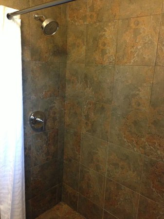 The Grand Resort and Spa:                   Walk in Shower