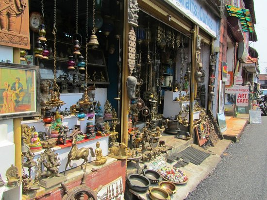 Image result for jewish street cochin