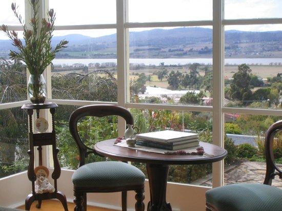 Trevallyn House B & B: Dining Room View
