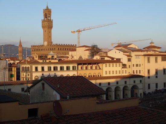 Pitti Palace al Ponte Vecchio:                   Firenze dalla terrazza