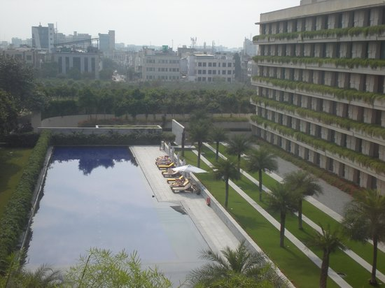 The Oberoi, Gurgaon:                   view from my room
