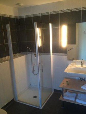Hotel Restaurant Le Bellevue:                   salle de bain