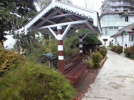 "Summit Swiss Heritage Hotel & Spa:                   The ""Barfi"" bench"