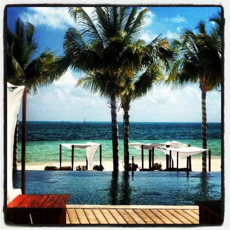 Villa del Palmar Cancun Beach Resort & Spa:                   View from one of the restaurants