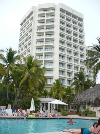 Sunscape Dorado Pacifico Ixtapa:                   hotel from the pool