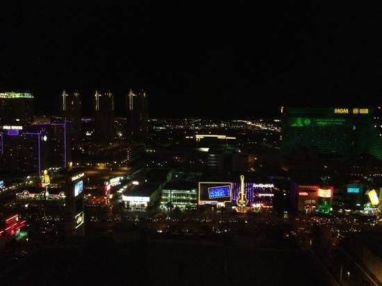 Monte Carlo Resort & Casino:                   view from our deluxe strip view