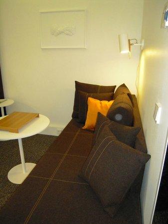 راديسون بلو بلازا هوتل هلسنكي:                   Nice day bed/sofa                 