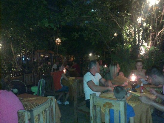 Once Upon a Time at Ruen Jao Khun Ou:                   Outdoor Garden dining...