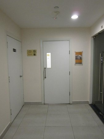 YMCA One Orchard:                                     entrance door to rooms area