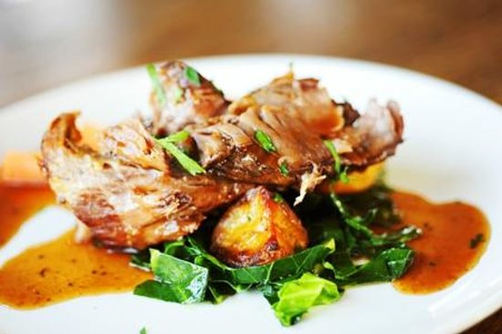 Pendragon Country House: Slow Roasted Blade of Beef Main Course