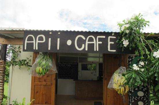 Apii Cafe:                                     front view